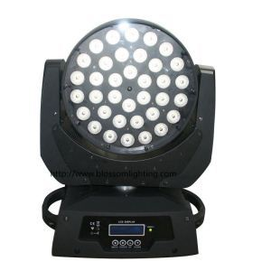 36*10W RGBW 4IN1 Led moving head wash light