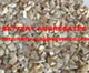Mother of Pearl shell aggregates for terrazzo