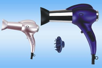 Straight-Handl e Electrical Hair Dryer ZD518