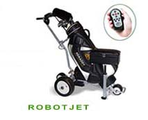 Robot Jet:Wireless Remote golf trolley/cart
