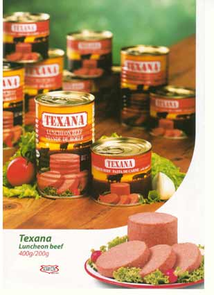Canned Beef - Luncheon meat