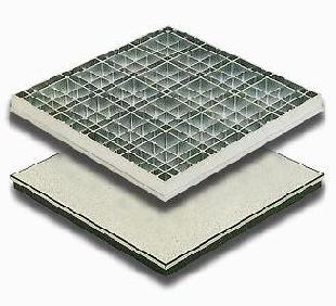 Anti-static Die-cast Aluminium Raised Floor AL606