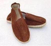 Capybara leather canvas shoes