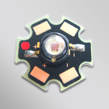 High Power 3W LED(Lambertian B with PCB)