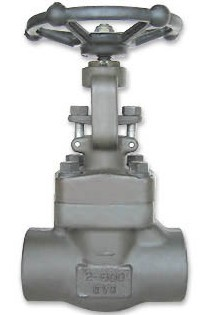 Forged steel A105 butt weld gate valve